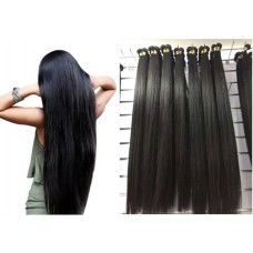 1 hair bundle Brazilian Peruvian Malaysian Mongolian Indian Long Hair Silky Straight